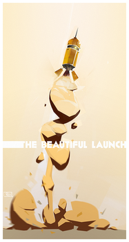 The Beautiful Launch by Ben-Olive