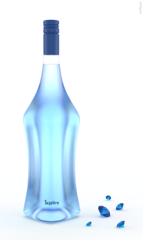 Sapphire vodka by IVV79