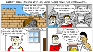 EBC #127: So Much Older Than Old McDonald's by EnergyBrainComics