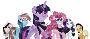 SP | The Mean 6 by AngelLightYT