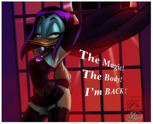 Magica is back by 14-bis