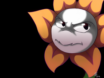 Flowey by Rethza