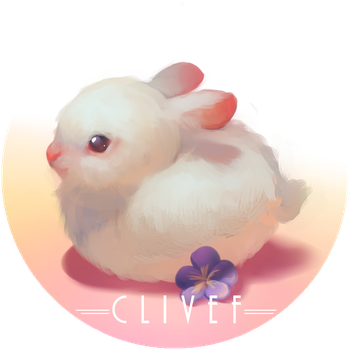 Badge Small Rabbit by christon-clivef