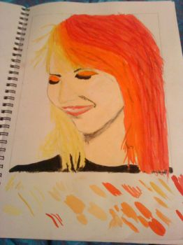 Hayley Williams II close up by rolymoly950