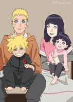 Familia Uzumaki The Last Naruto The Movie by AiKawaiiChan