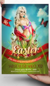 Easter Flyer Template by LordFiren