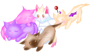 Star Kittens by PrinceNeoShnieder