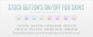 Stock_buttonskins001 by icyrosedesign