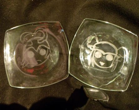 Loki and Thor plates by IenzoVantas
