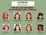 PATREON - Selection Vote for March 2018 by LeFrenchFox