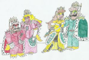 Royal Koopas by SHADOWLOUIX