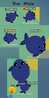 Baby Animals Series #1 Blue Whale by SansSkeletonHUN