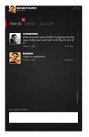 Twitter client, dark version. by BassemS