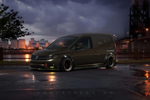 VolksWagen Caddy UPS by Rob3rT----Design