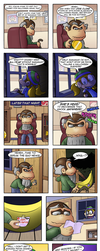 Tiny Kong: Halloween Hoarder by kjsteroids