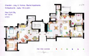 FRIENDS Apartments Floorplan (Old version) by nikneuk