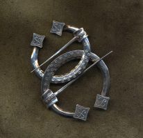 Silver Brooches by Ugrik