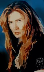 Dave Mustaine by ARandomUserl-l