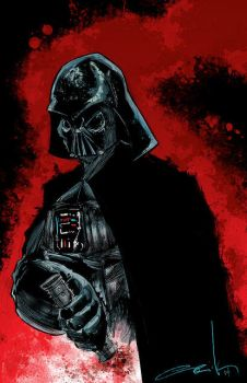 Darth Vader by phour-nyne-guy