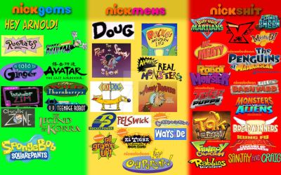 Nicktoons Judging Chart by zana-artista
