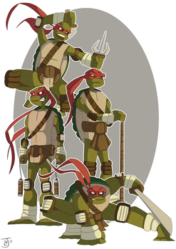 Heroes In A Half Shell 2.0 by Jambo86