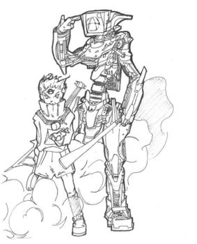 FLCL Dual Atomsk by xsulon by flcl