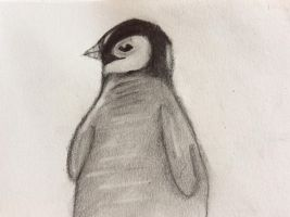 Baby penguin by SketchMcbeath