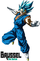Super Saiyan Blue Vegetto by BrusselTheSaiyan