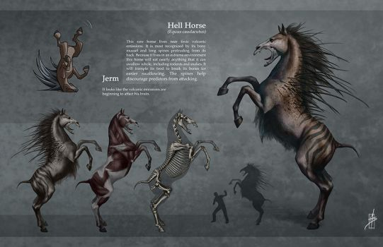 Hell Horse Ortho by Zhrayde