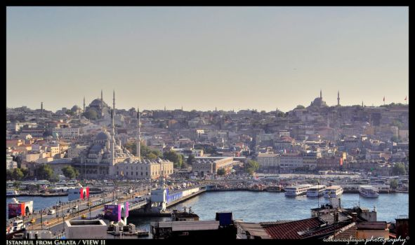 Istanbul from Galata by BeYounique