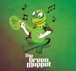 The Green Muppet by ScoobyKun