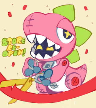 store reopen by extyrannomon