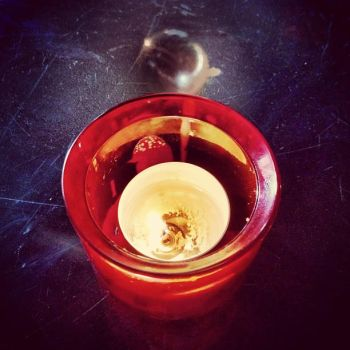 Tealight Trick! by RusticBlonde