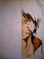 2014 Drawing - wip of Eren :) by nielopena
