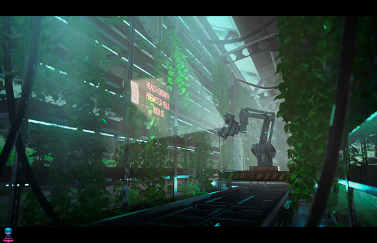 Blood of Sol - The Hydroponics Factory by AranniHK
