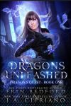 Dragons Unleashed (Book Cover) by FrostAlexis