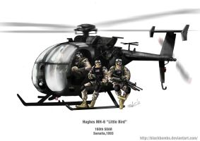 Mh-6 Little Bird by Blackbombs