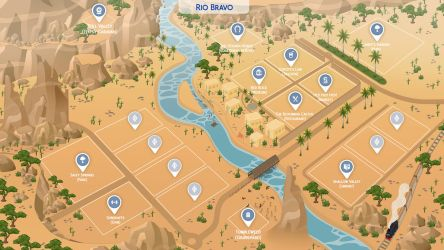 Rio Bravo - Sims 4 Fanmade Map by filipesims
