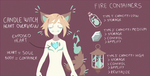 Candle Witches: Heart and fire info by Pyro-Zombie