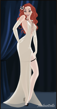 Bonnie McCullough (age- 26) Meredith's wedding by The-Girlwith-Glasses