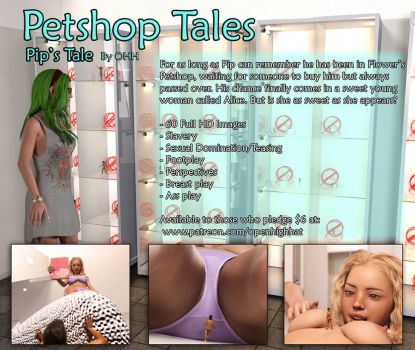 Petshop Tales  Pip's Tales By Openhighhat by butre3004