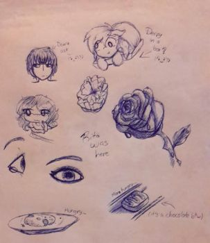 Pen and marker challenge .:Tag:. by Rita-shi52