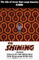 THE SHINING - MOVIE POSTER by ziosimon