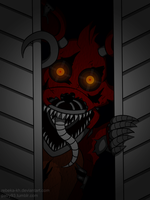 Nightmare Foxy by Rebeka-KH