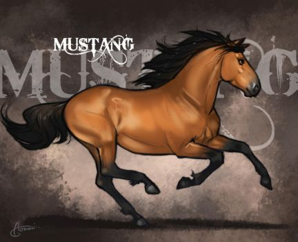 Adult Mustang for Mestengo v2 by AonikaArt
