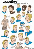 Avengers Dump 18 by LauraDoodles