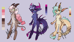 Anthro Adopts Round 1 [2/3 OPEN] REDUCED by xMordu