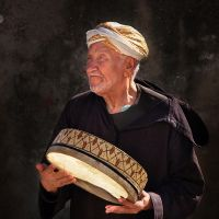 the Moroccan Tambourine player by VaggelisFragiadakis
