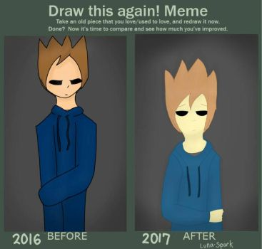 Draw it again! Meme (Tom/Son of a Pineapple) by Luna-Spark