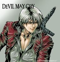 Dante Devil May Cry by Overweight-Cat